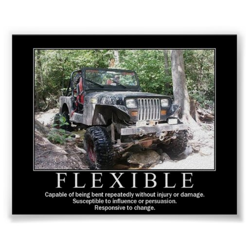 FLEXIBLE POSTERS