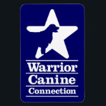 "Flexible WCC magnet<br><div class=""desc"">Perfect for your fridge,  and possibly your car!</div>"