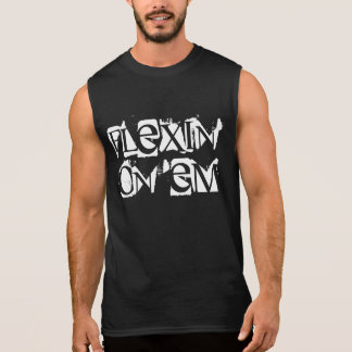 'Flexin' on 'em' Fitness Training Muscle Tee