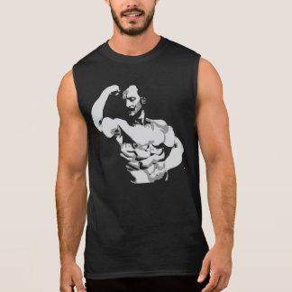 Flexión del bíceps de Eugen Sandow - Bodybuilding Remera Sin Mangas