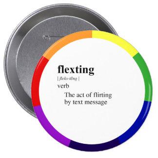 FLEXTING 4 INCH ROUND BUTTON