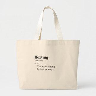 FLEXTING JUMBO TOTE BAG
