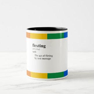 FLEXTING Two-Tone COFFEE MUG