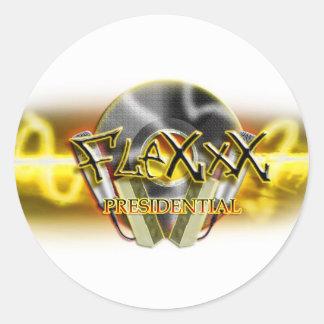 Flexxx Presedential Classic Round Sticker