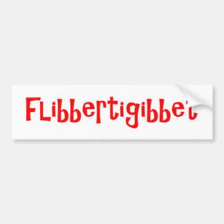Flibbertigibbet Bumper Sticker
