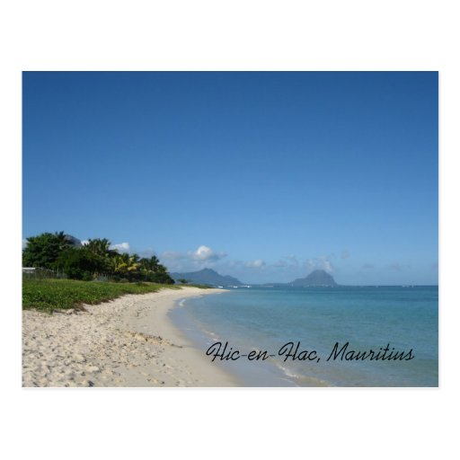 Flic-en-Flac, Mauritius Post Cards