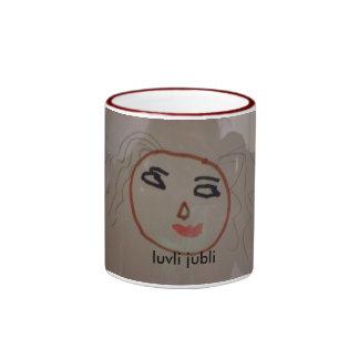 flicka, luvli jubli ringer mug