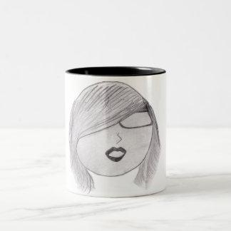 flicka Two-Tone coffee mug