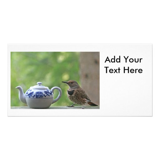 Flicker and a Teapot Photo Cards