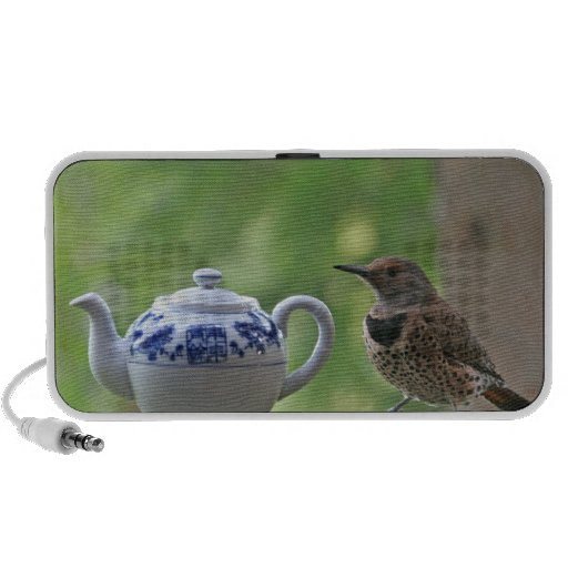 Flicker and a Teapot Portable Speaker