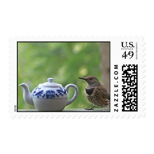 Flicker and a Teapot Postage