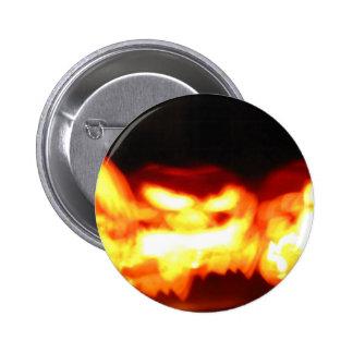 Flickering Jack-O-Lanterns Pinback Button
