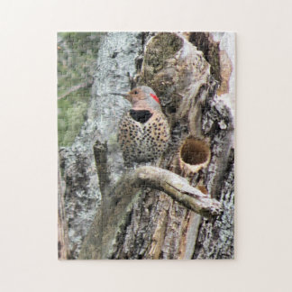 'Flickers' New Home' Jigsaw Puzzle