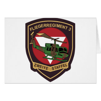 Fliegerregiment 3 2. Staffel Card