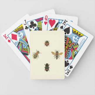 Flies and Beetles by Vision Studio Bicycle Playing Cards