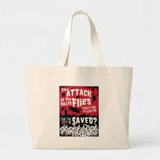 Flies Attack! Canvas Bag