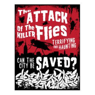 Flies Attack! Postcard