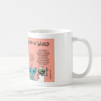 Flies celebrate Earth Day Coffee Mug