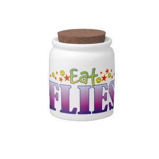 Flies Eat Candy Jars