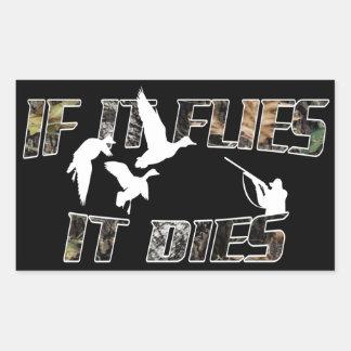 Flies it Dies Stickers