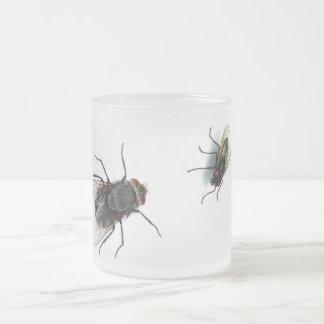 Flies Taza De Cristal
