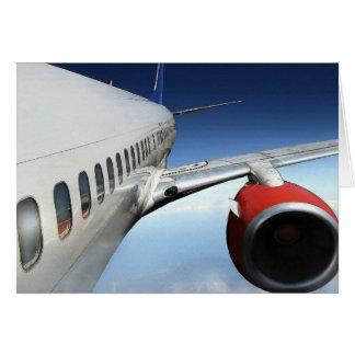 flight-1920x1200 greeting card