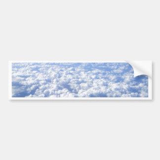 flight above the clouds bumper sticker