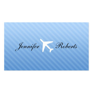 Flight Attendant Business Cards