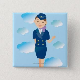 Flight Attendant Button