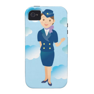 Flight Attendant Case-Mate iPhone 4 Covers