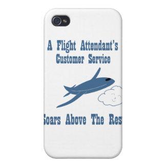 Flight Attendant Customer Service iPhone 4 Cover