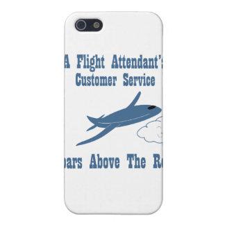 Flight Attendant Customer Service iPhone SE/5/5s Cover