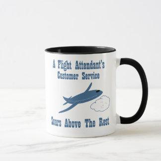 Flight Attendant Customer Service Mug