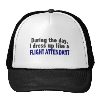 Flight Attendant During The Day Hats