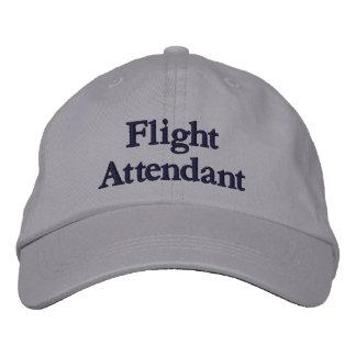 Flight Attendant Embroidered Baseball Hat
