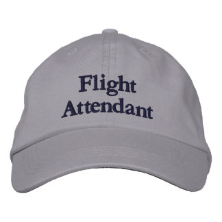 Flight Attendant Embroidered Hat