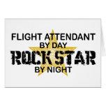 Flight Attendant Rock Star Card