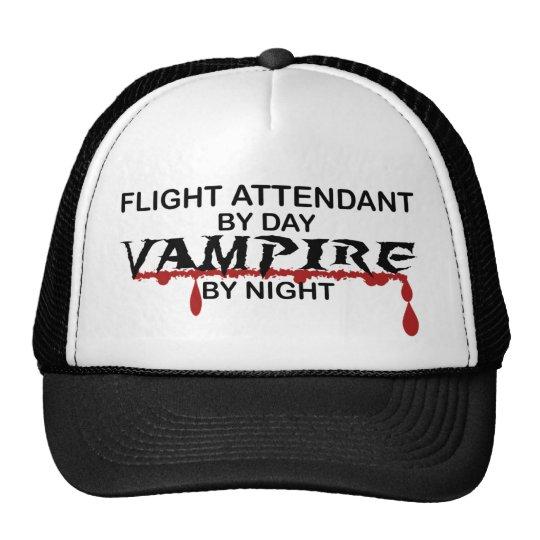 Flight Attendant Vampire by Night Trucker Hat