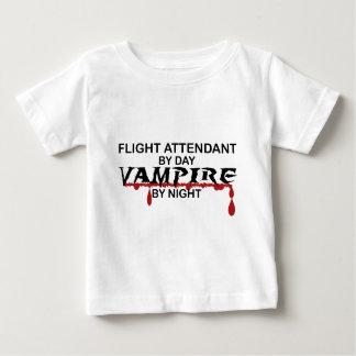 Flight Attendant Vampire by Night Infant T-shirt