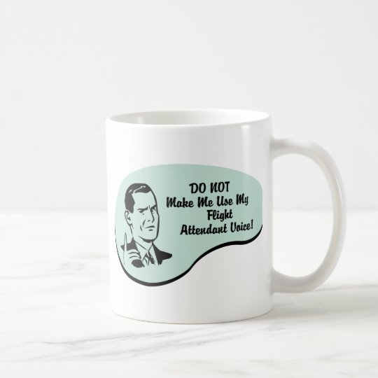 Flight Attendant Voice Coffee Mug