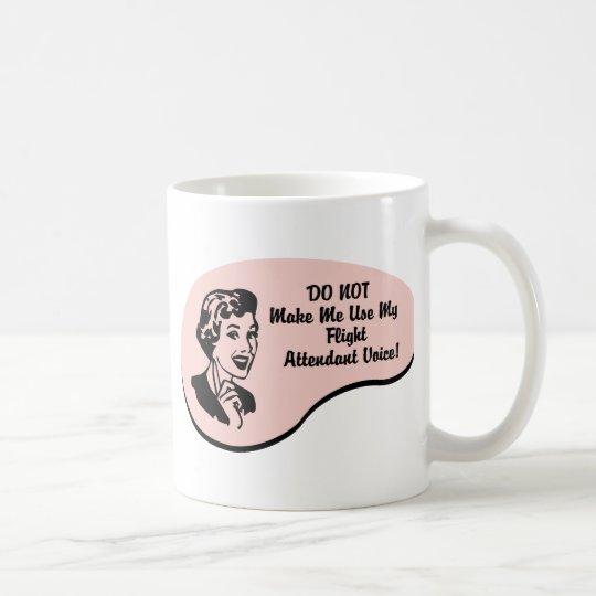 Flight Attendant Voice Coffee Mug