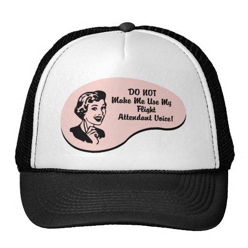 Flight Attendant Voice Mesh Hat