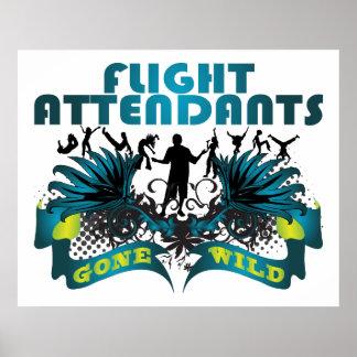 Flight Attendants Gone Wild Poster