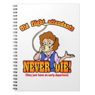 Flight Attendants Notebook