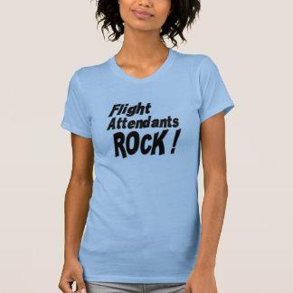 Flight Attendants Rock! T-shirt