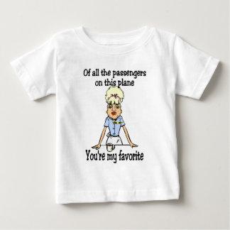 Flight Attendant's Welcome Baby T-Shirt