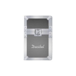 Flight Case Music Pocket Moleskine Notebook