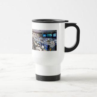 Flight Control Room Johnson Space Center Travel Mug