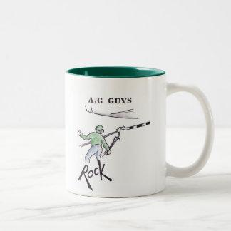 Flight Deck Guys Two-Tone Coffee Mug