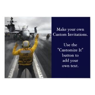 Flight Deck of Aircraft Carrier Card